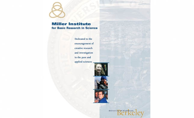 Becas en el Instituto Miller de la Universidad de California, Berkeley